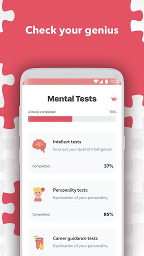 Aptitude test. Personality test games  screenshots 1