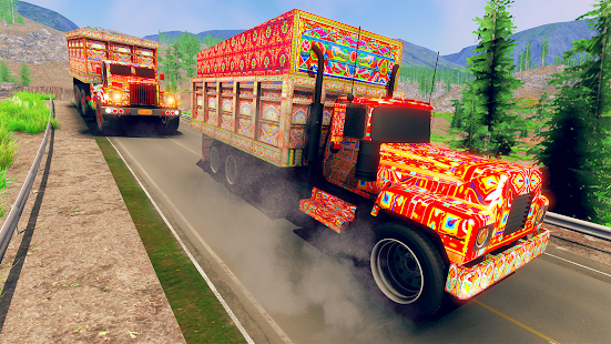 Asian Truck Simulator 2021: Truck Driving Games Screenshot