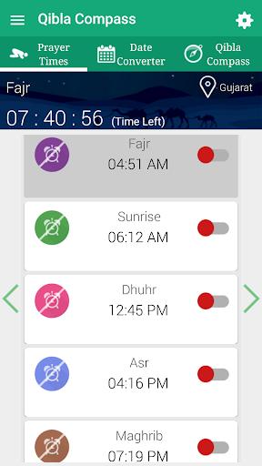 Qibla Compass - Prayer Times, Quran MP3 & Azan 11.6 Screenshots 11