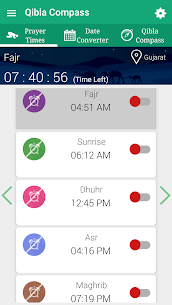 Qibla Compass – Prayer Times, Quran MP3 & Azan 3