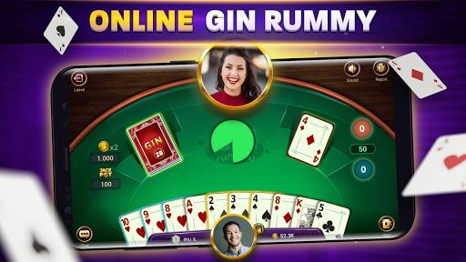 Gin Rummy Online - Free Card Game 1.6.1 screenshots 1