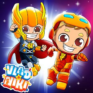 Vlad and Niki Superheroes