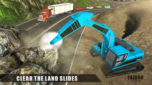 Heavy Excavator Rock Mining Stone Cutter Simulator 4.5 screenshots 10
