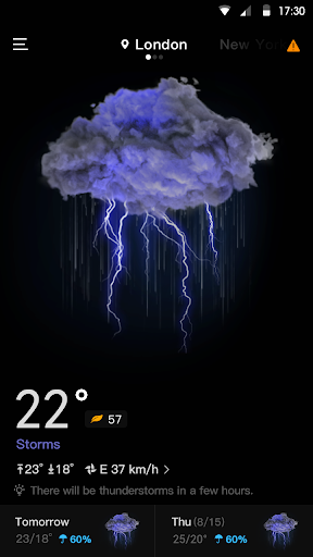 Live Weather & Accurate Weather Radar - WeaSce android2mod screenshots 1