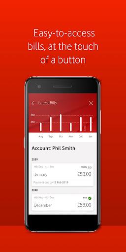 My Vodafone android2mod screenshots 3