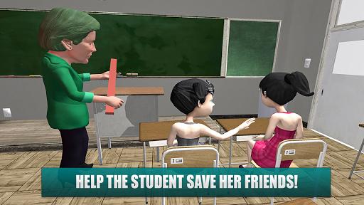 Horror Teacher School Creepy Game screenshots 9
