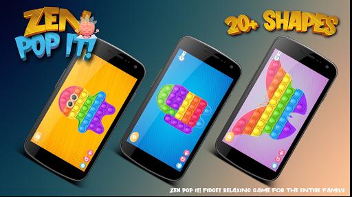 Pop It Sensory Zappeln Wu00fcrfel Spielzeug 3d  screenshots 2