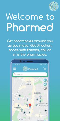 pharmed - find pharmacies & medicines screenshot 1
