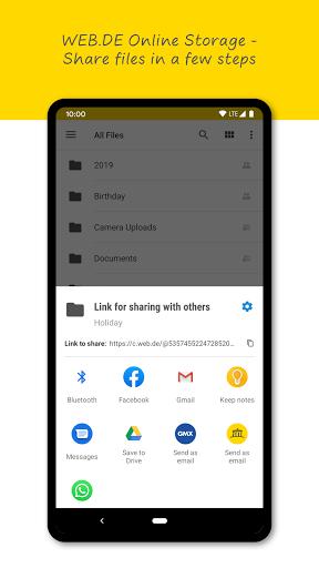 WEB.DE Mail & Cloud 6.19.1 screenshots 5