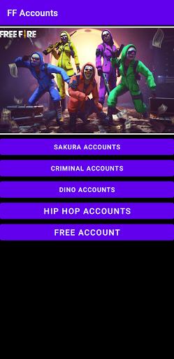 FF Accounts  screenshots 1