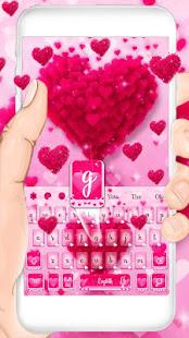 Love Heart Keyboard Theme