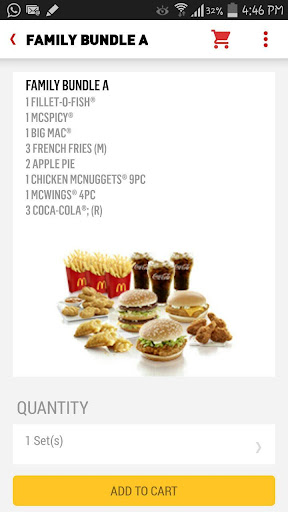 McDelivery Singapore  Screenshots 4