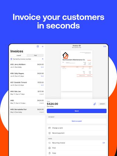 Simple Invoice Maker - Easy Estimate & Invoice App apktram screenshots 10