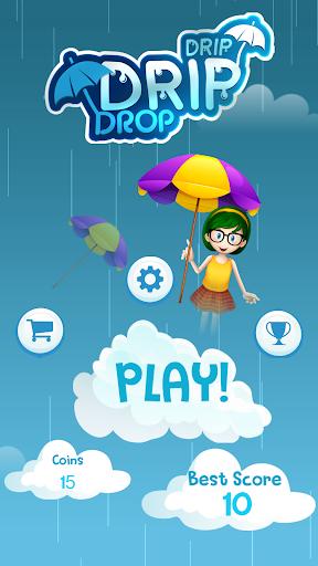 Télécharger Drip Drip Drop: Dodge Drops with Magic Umbrella mod apk screenshots 1
