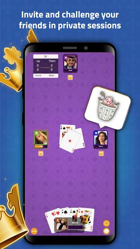 VIP Jalsat: Tarneeb, Trix & Domino Online 3.7.2.61 screenshots 12