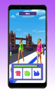 ファッションクイーンキャットウォークチャレンジ-ボディ衣装レース