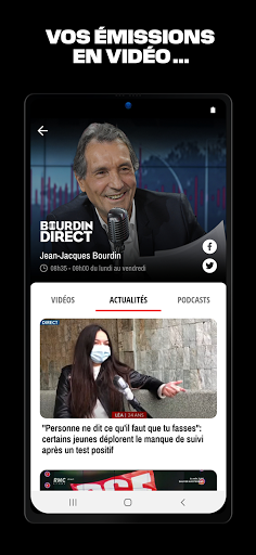 RMC ud83cudf99ufe0fInfo et Foot en direct - Radio & Podcast  Screenshots 4