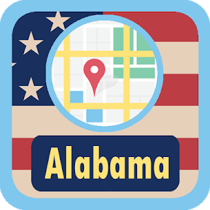 USA Alabama Maps  For Pc – Free Download For Windows 7, 8, 8.1, 10 And Mac 1