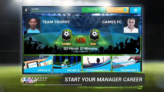 Football Management Ultra 2021 – Manager Game MOD (Cups) 2