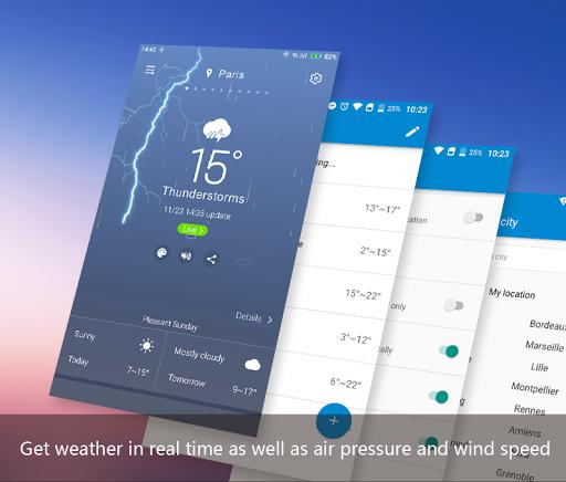 APE Weather ( Live Forecast) 10.0.14.01 Screenshots 2