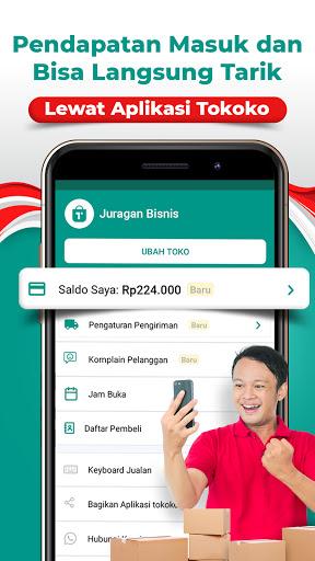 Tokoko Seller | Buat Toko Online Shop Gratis apktram screenshots 6