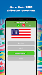Countries, capitals and flags of the world Guess the countries, capitals and flags 0.4 Mod + Data Download 2