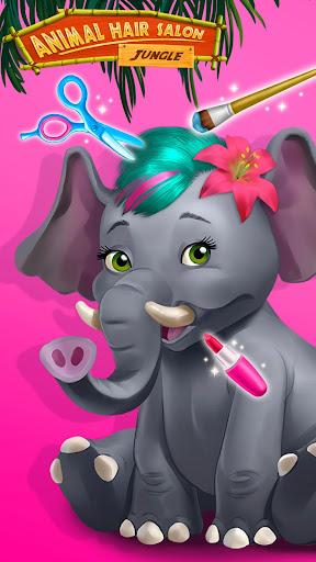 Jungle Animal Hair Salon - Styling Game for Kids 4.0.10018 screenshots 7