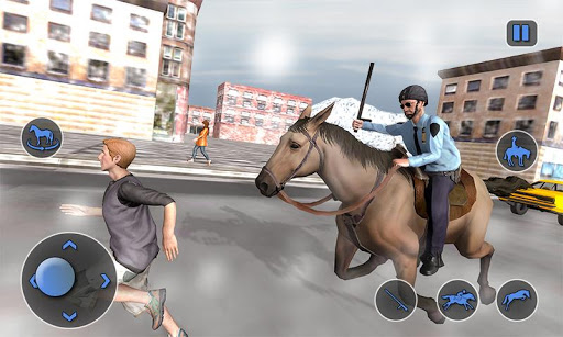 Mounted Horse Police Chase: NY Cop Horseback Ride 1.0.10 screenshots 1