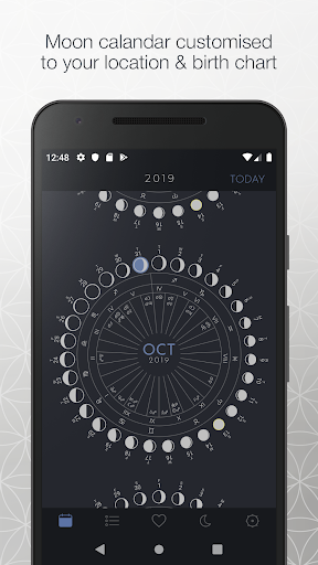 the moon calendar screenshot 1