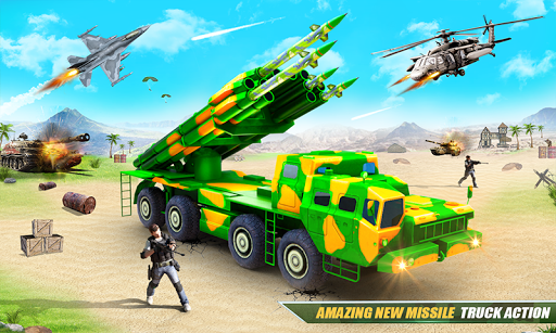 US Army Robot Missile Attack: Truck Robot Games 23 Screenshots 2