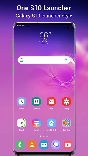 One S10 Launcher - S10 Launcher style UI, feature  screenshots 1