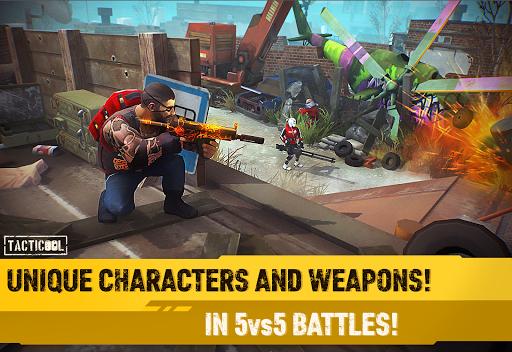 Tacticool - 5v5 shooter  screenshots 2