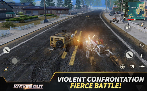 Knives Out-No rules, just fight! apktram screenshots 9