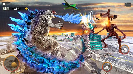 Monster Smash City - Godzilla vs Siren Head 1.0.3 screenshots 3