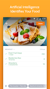 Calorie Mama AI: Meal Planner & Food Macro Counter Screenshot