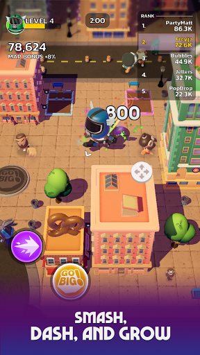 Go Big! - Smash Dash & Grow Battle Royale Game screenshots 3