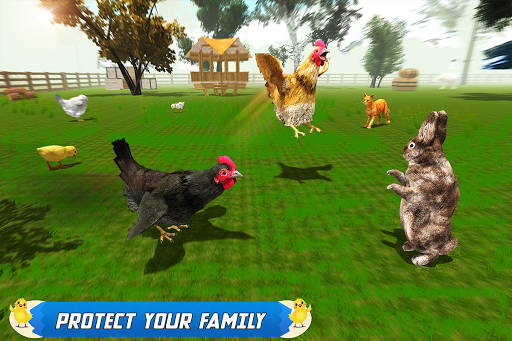 New Hen Family Simulator: Chicken Farming Games  screenshots 9