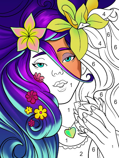 Paint by Number: Free Coloring Games - Color Book apktram screenshots 1