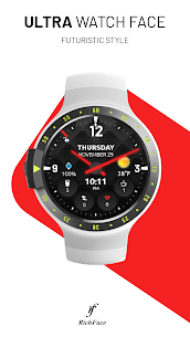 Ultra Watch Face  For Pc (Windows 7, 8, 10, Mac) – Free Download 1