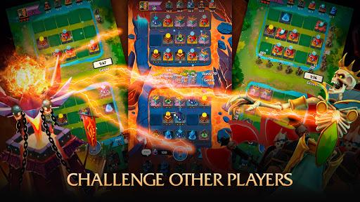 Random Clash - Epic fantasy strategy mobile games apkslow screenshots 13