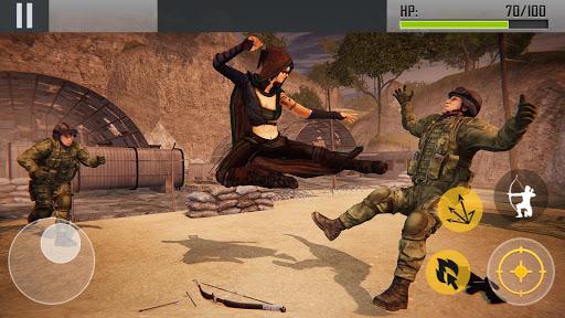 Ninja Archer Assassin FPS Shooter: 3D Offline Game 2.8 screenshots 9