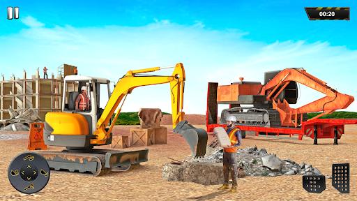 Heavy Excavator Crane Sim Game 2.2 screenshots 15