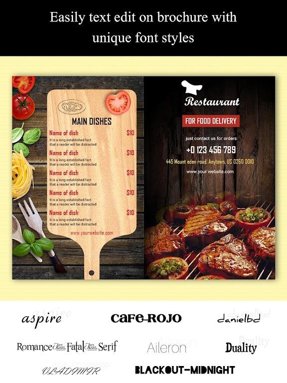 Brochure Maker - Pamphlets, Infographics, Catalog  poster 12