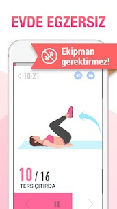 Kadın Egzersizi – Kadınlar İçin En Uygun Spor App 3