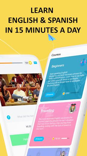 EWA: Learn English & Spanish Language android2mod screenshots 1