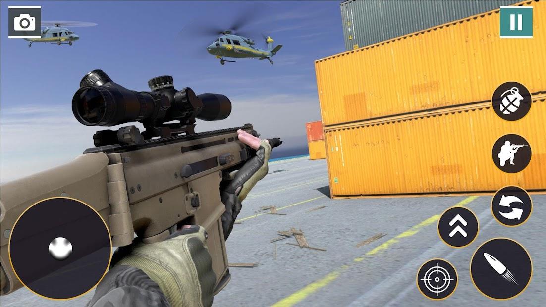 Captura 16 de Call of Commando Strike: Juegos de disparos para android