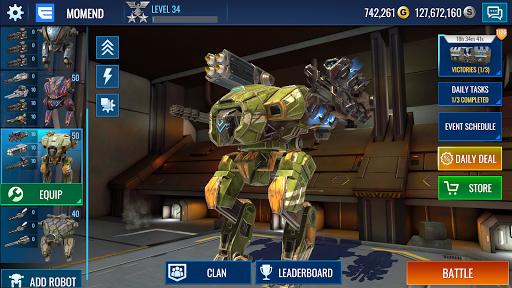 Mech Wars: Multiplayer Robots Battle modavailable screenshots 10