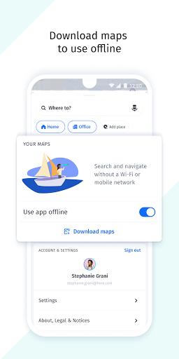 HERE WeGo Maps & Navigation android2mod screenshots 6