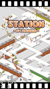 STATION-Train Crowd Simulation 1.4 Mod + Apk (New Version) 1
