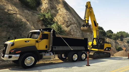 Dozer and Truck Games: Excavator Simulator  screenshots 8
